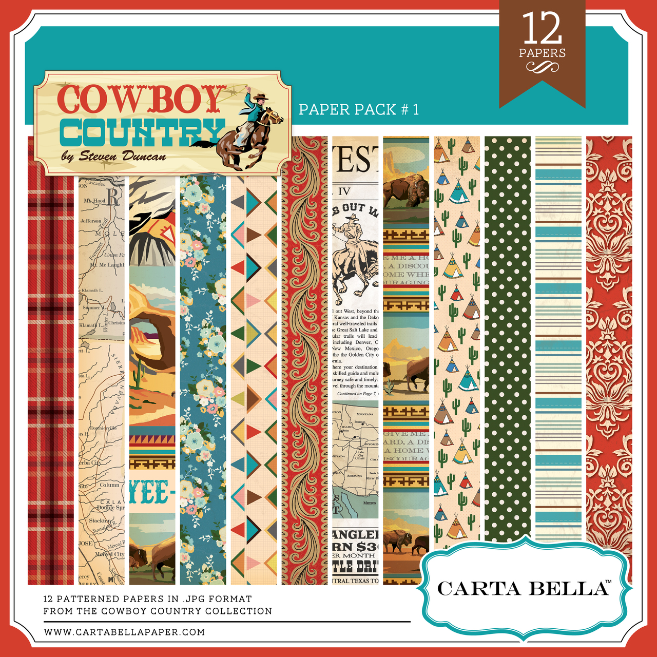 Cowboy Country Paper Pack #2