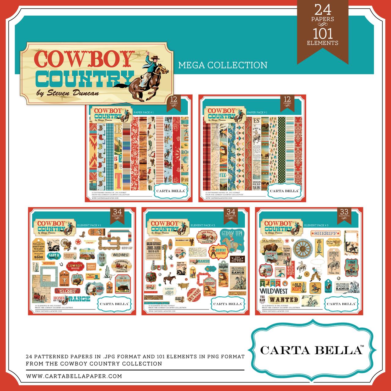 Cowboy Country Mega Collection