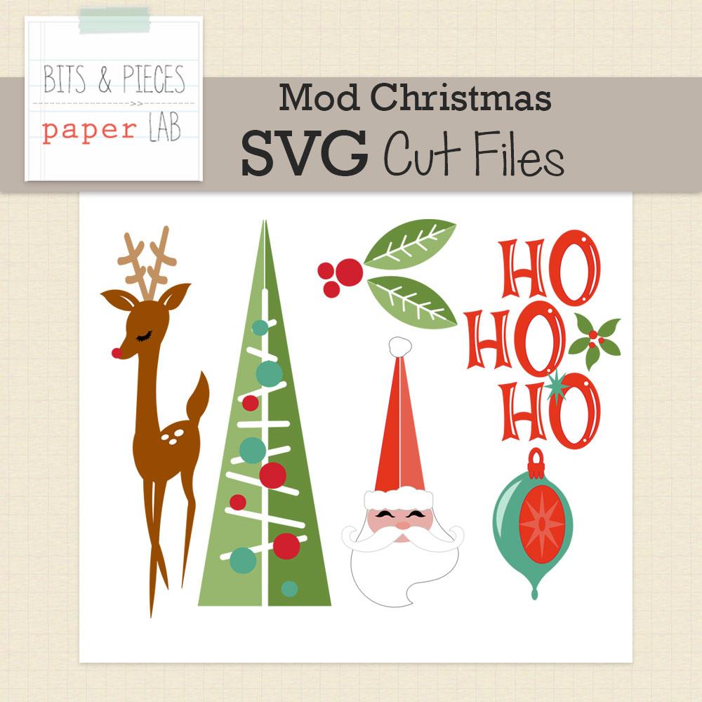 Mod Christmas Cut Files Snap Click Supply Co
