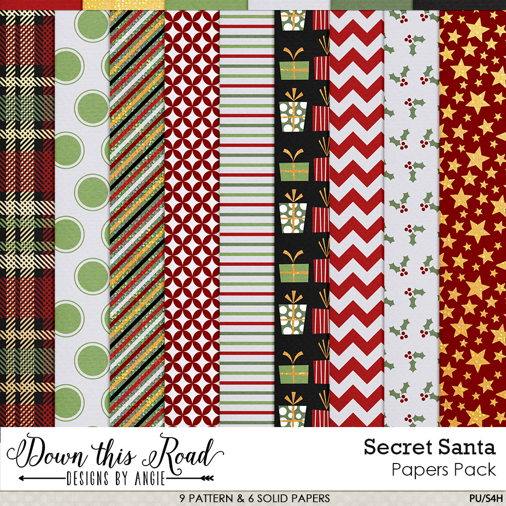 Secret Santa Paper Pack