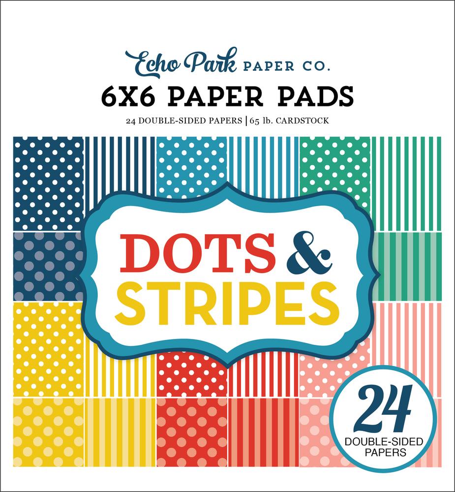 Summer 2018 Dots & Stripes 6x6 Paper Pad