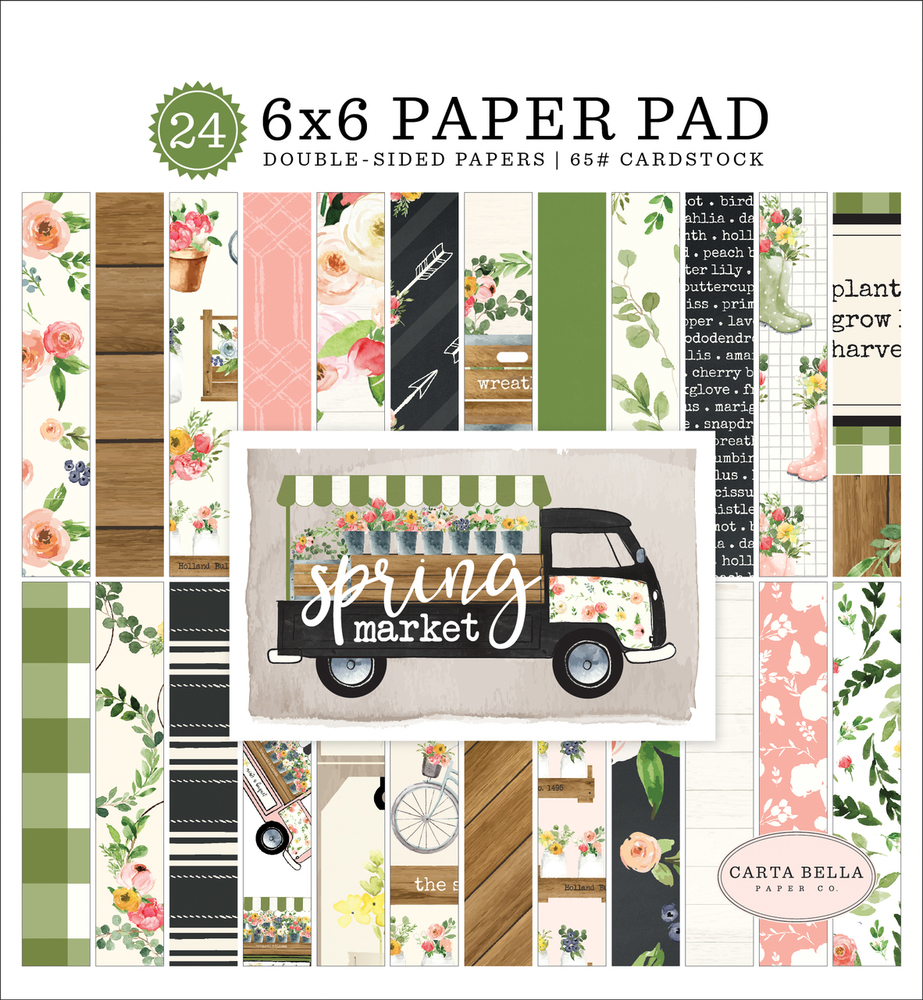Spring Market 6x6 Paper Pad