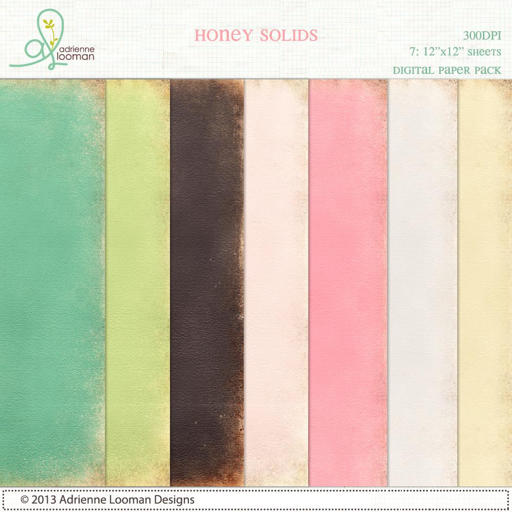 Paper Pack Honey Solids