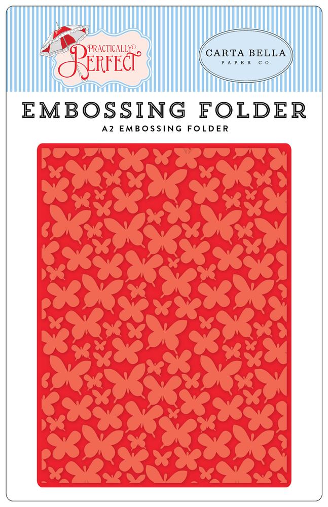 Practically Perfect Embossing Folder - Mini Butterflies