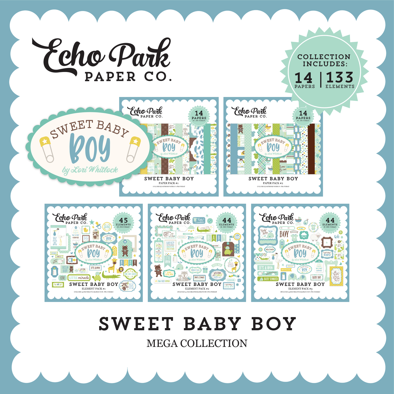 Sweet Baby Boy Mega Collection
