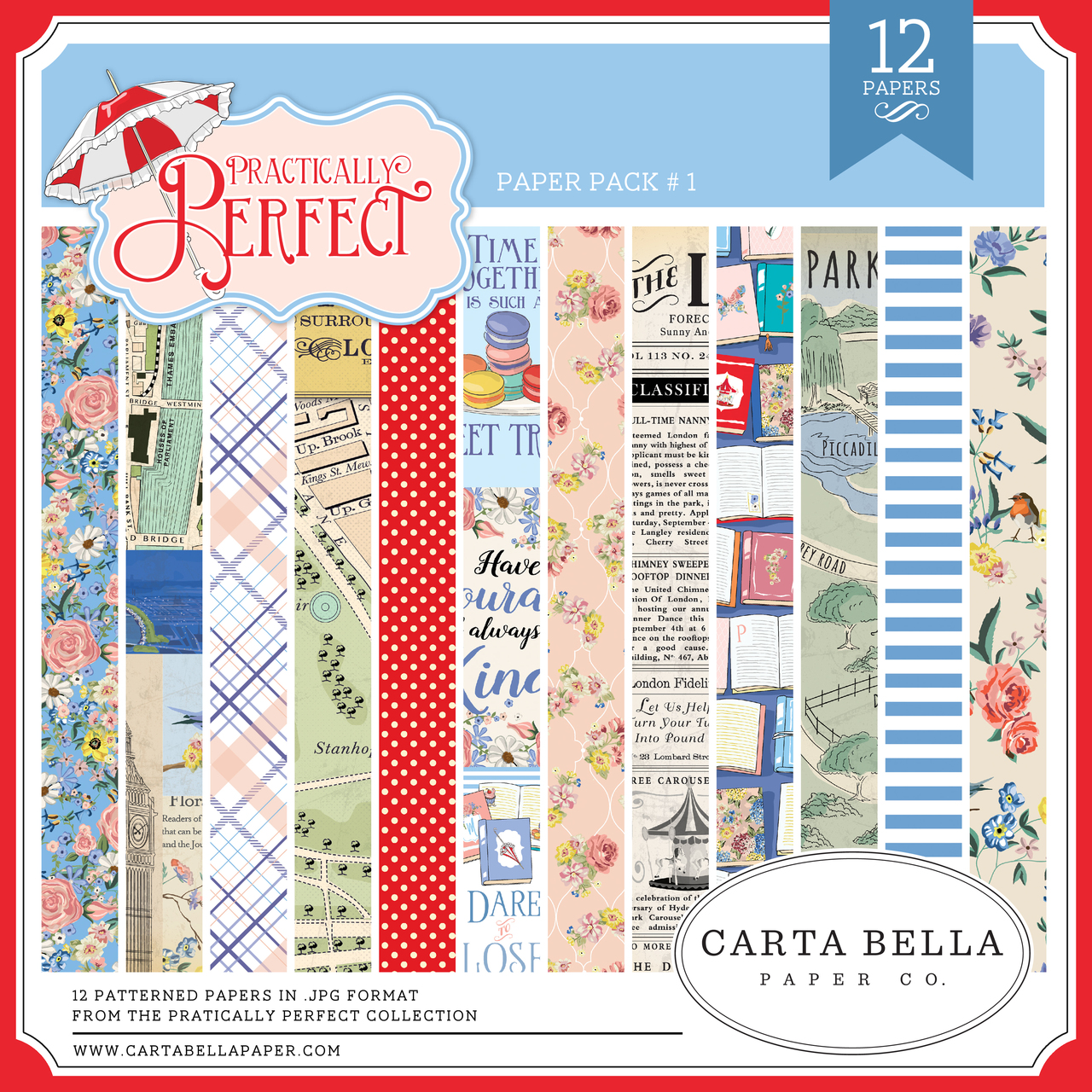 Practically Perfect Paper Pack #1