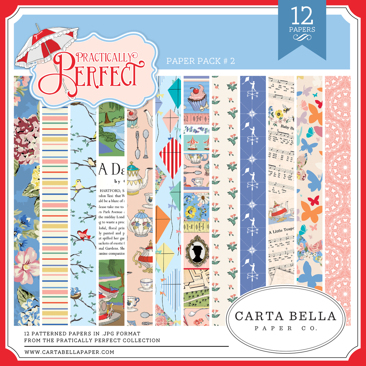 Practically Perfect Paper Pack #2