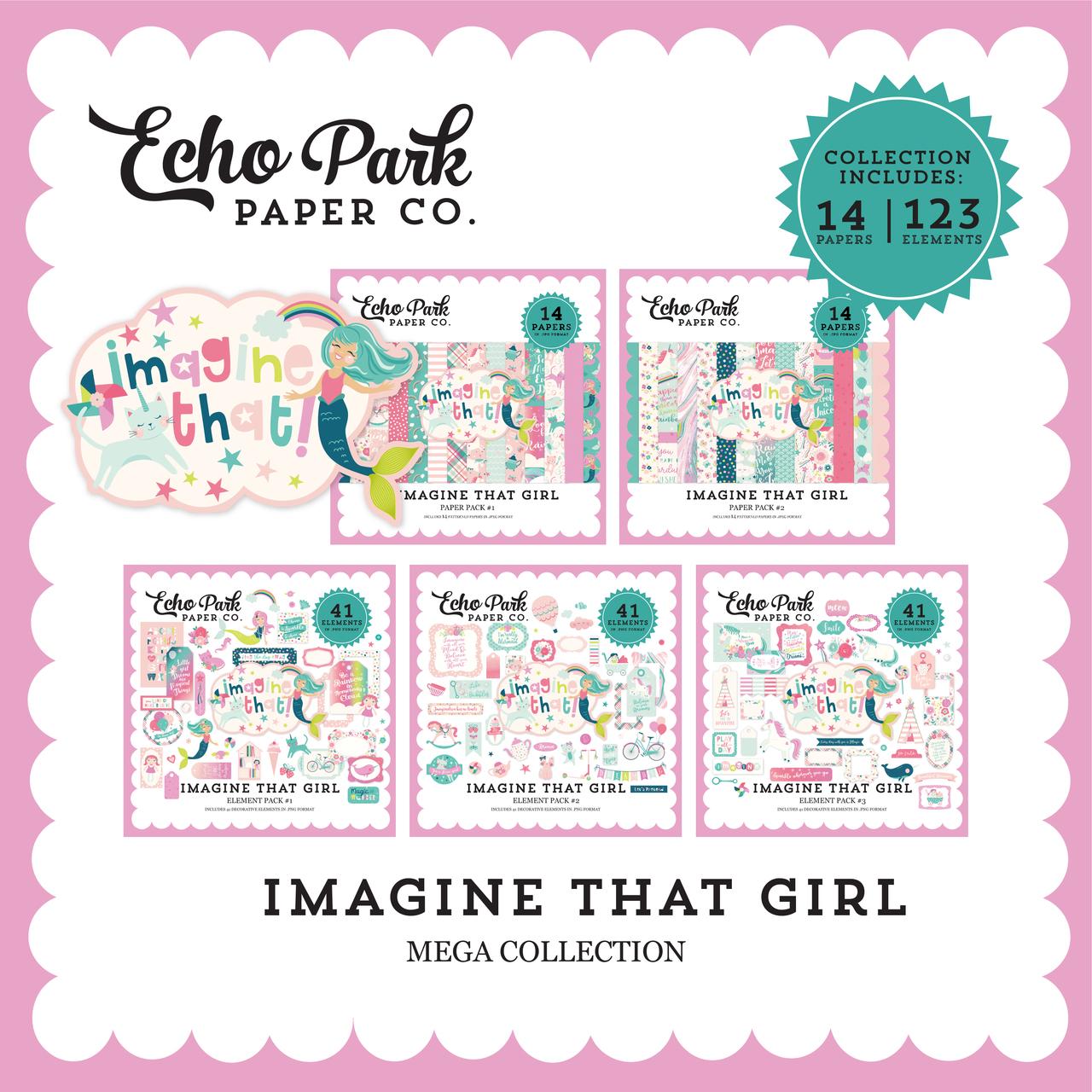 Imagine That Girl Mega Collection