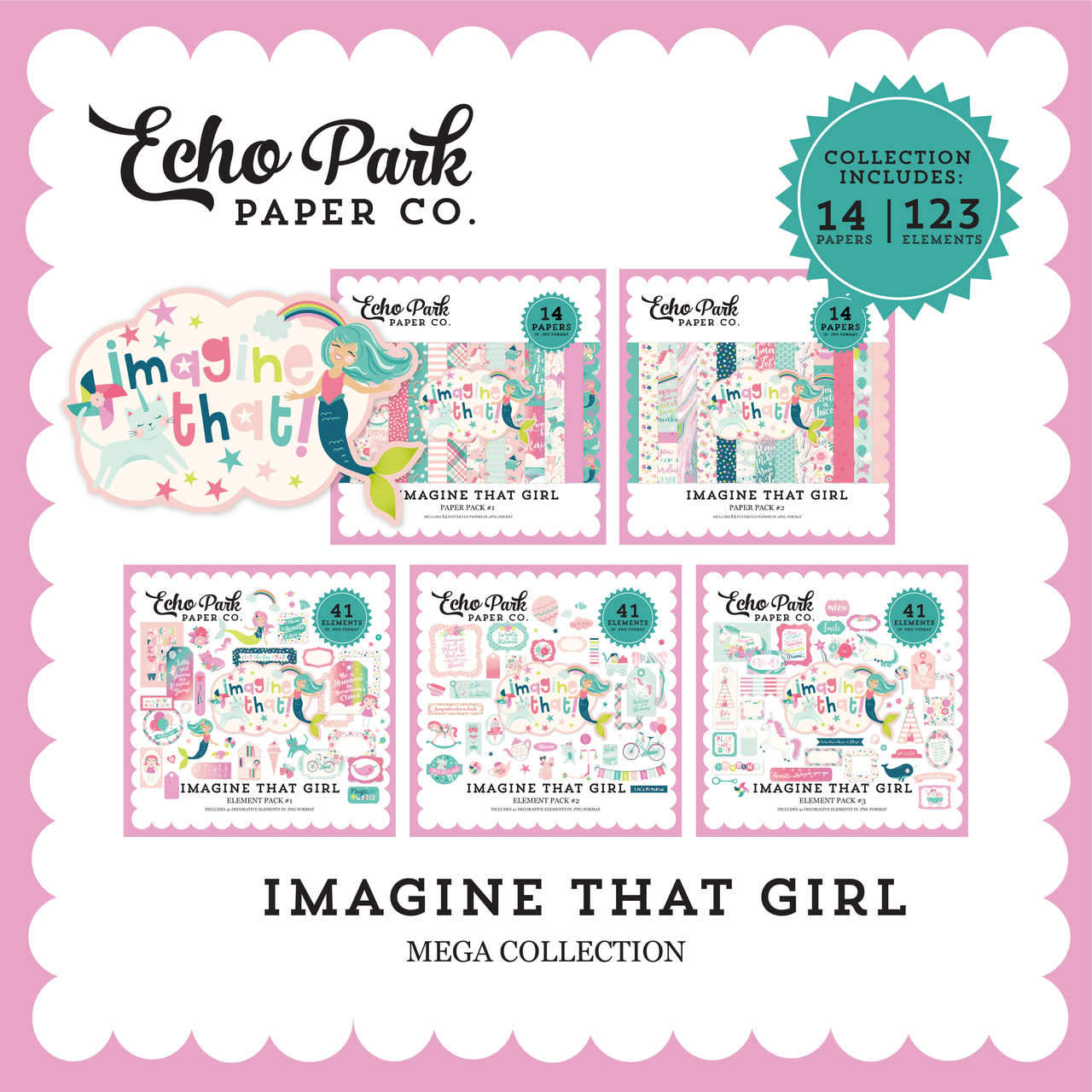 Imagine That Girl Mega Collection