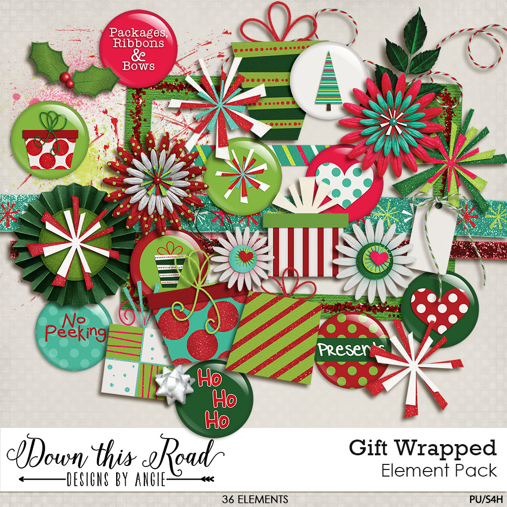 Gift Wrapped Element Pack