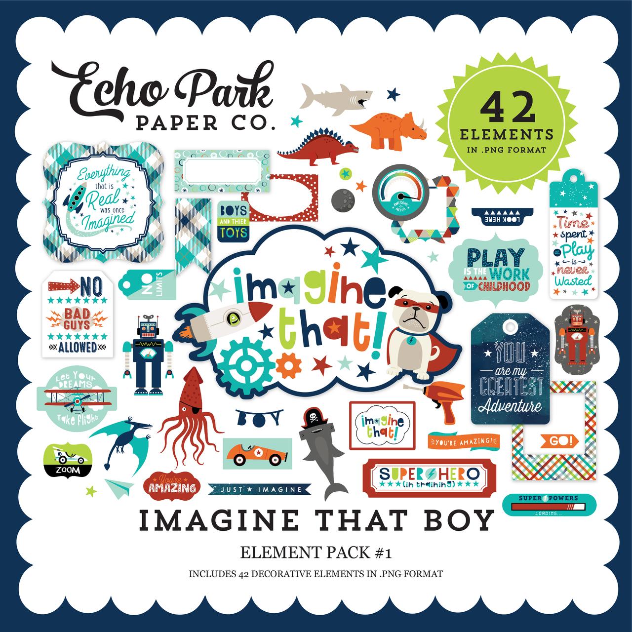 Imagine That Boy Element Pack #1