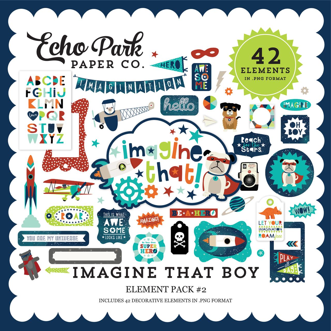 Imagine That Boy Element Pack #2