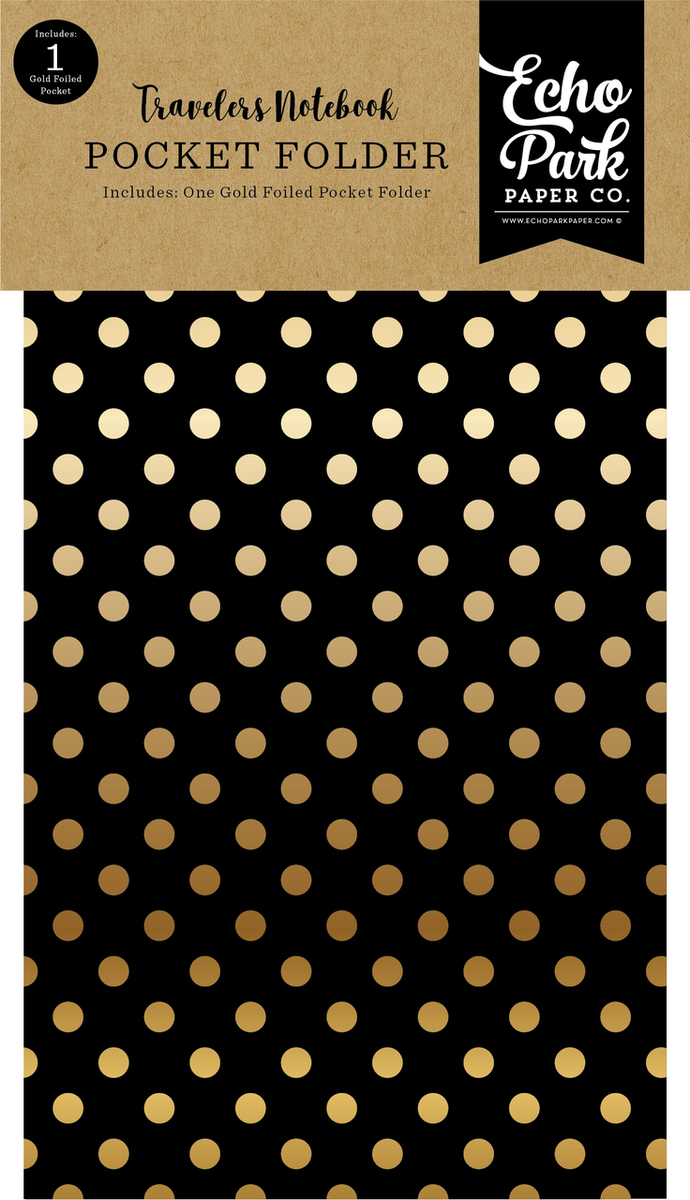 Coffee & Friends Travelers Notebook Pocket Folder Insert