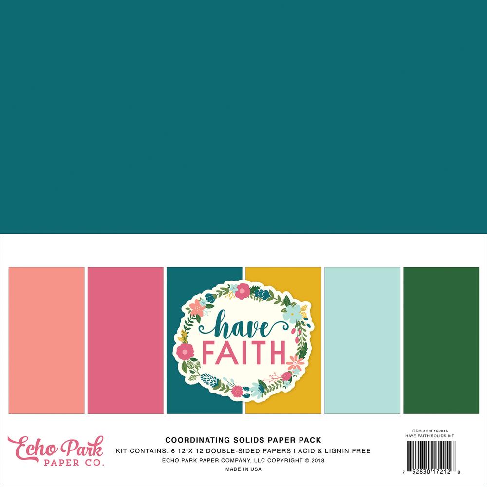 Have Faith Solids Kit