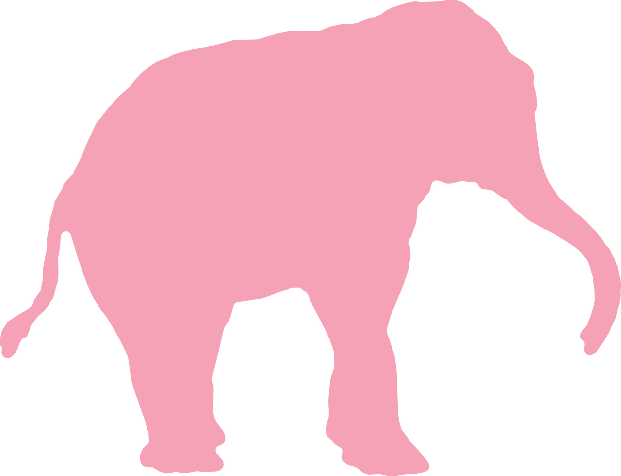 Elephant SVG Cut File