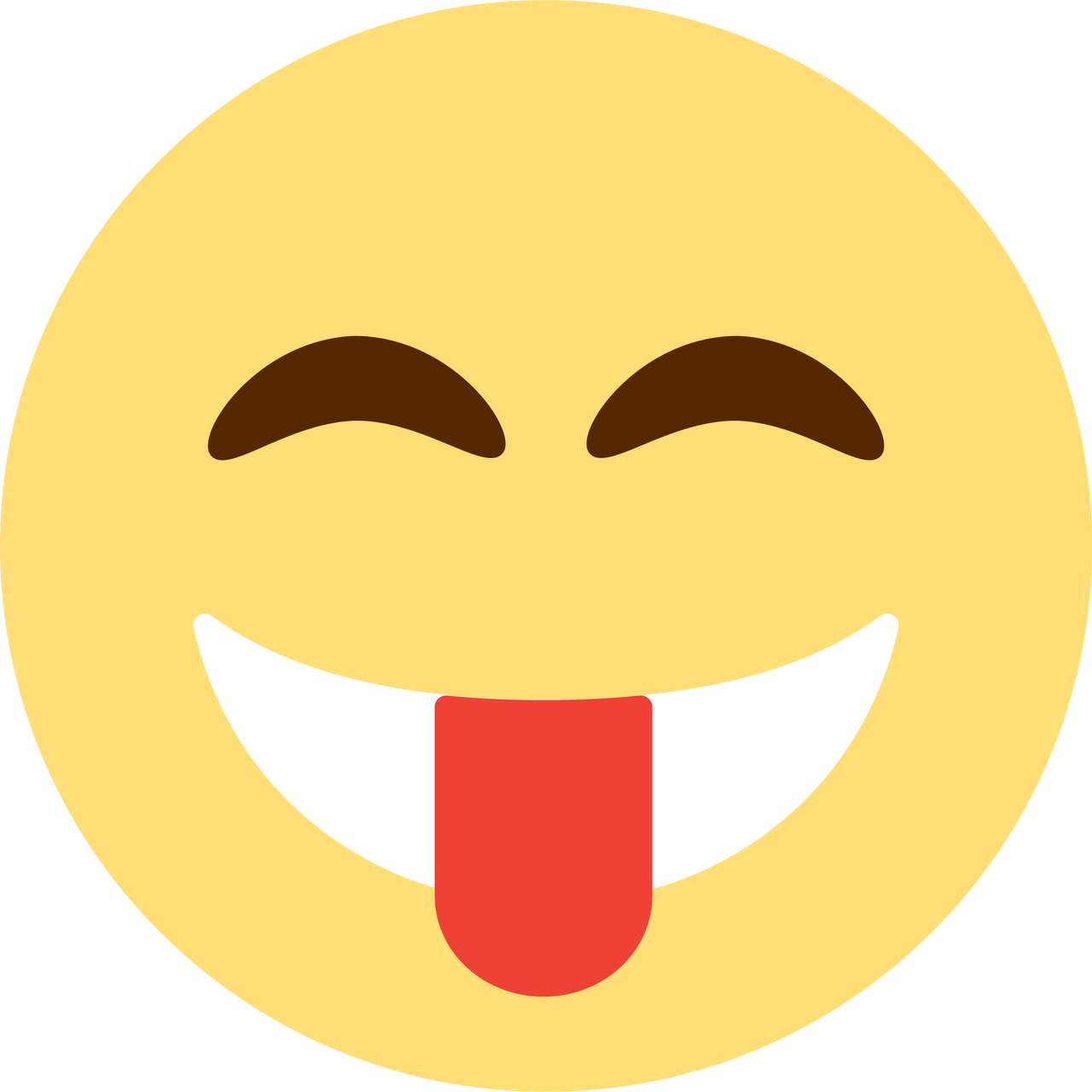 Tongue Emoji SVG Cut File