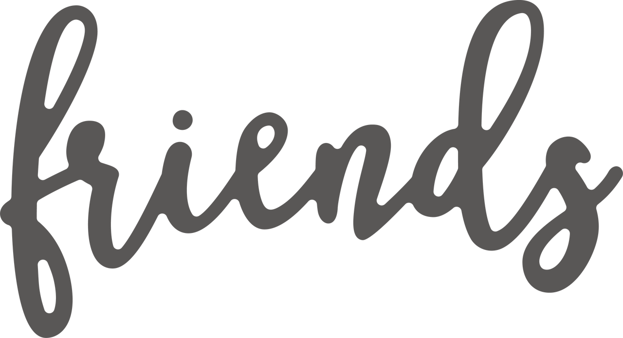 Friends SVG Cut File