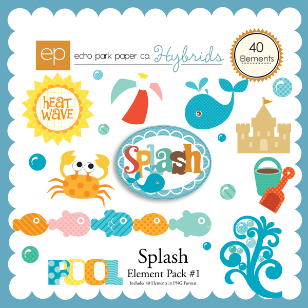 Splash Element Pack 1