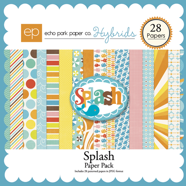 Splash Paper Pack