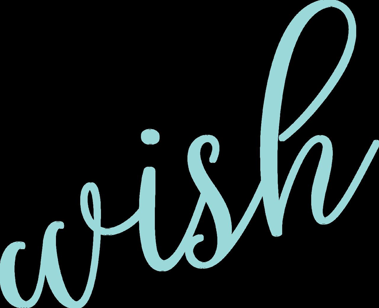 Wish SVG Cut File