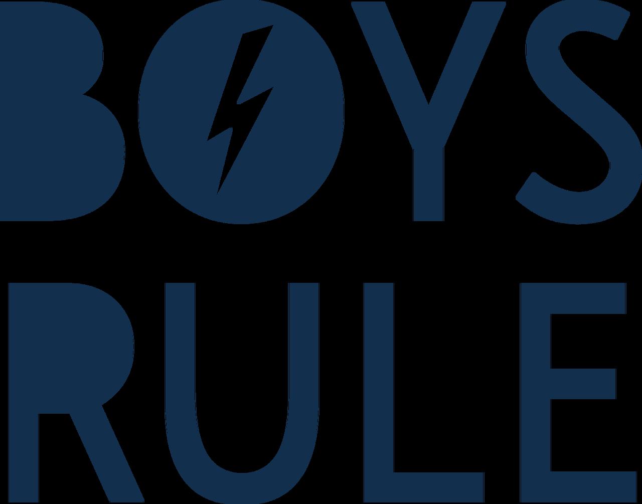 Boys Rule SVG Cut File