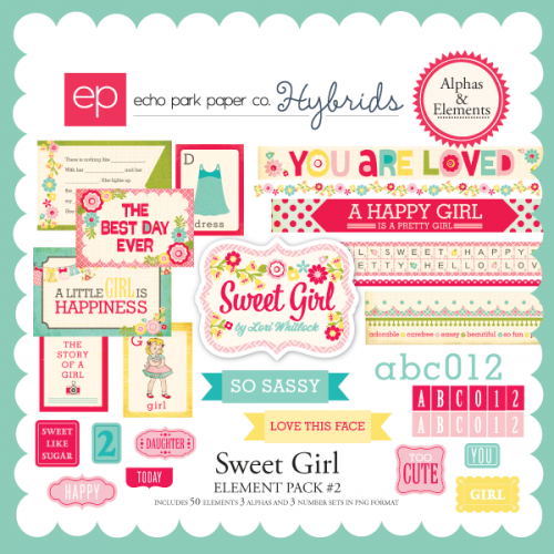 Sweet Girl Element Pack #2