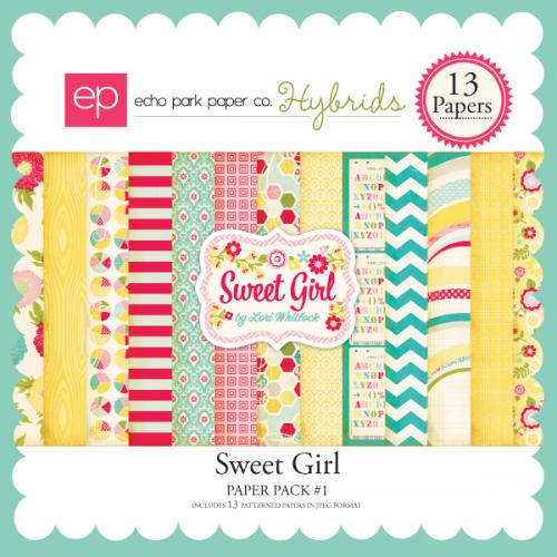 Sweet Girl Paper Pack #1