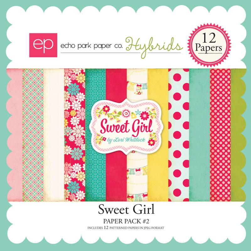 Sweet Girl Paper Pack #2