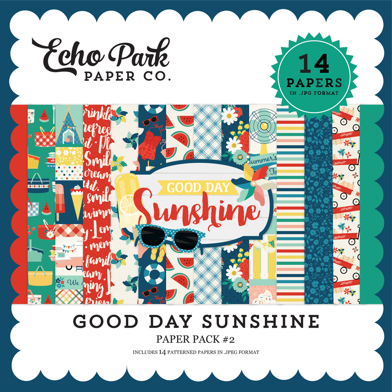 Good Day Sunshine Paper Pack #2