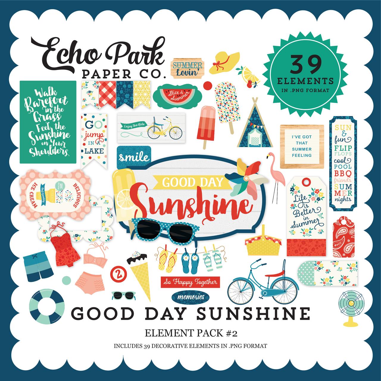 Good Day Sunshine Element Pack #2