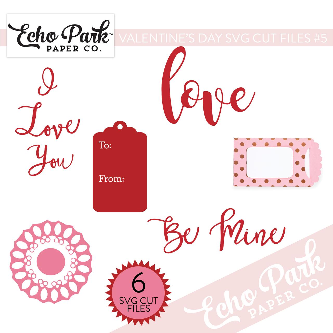 Valentines SVG Cut Files #5