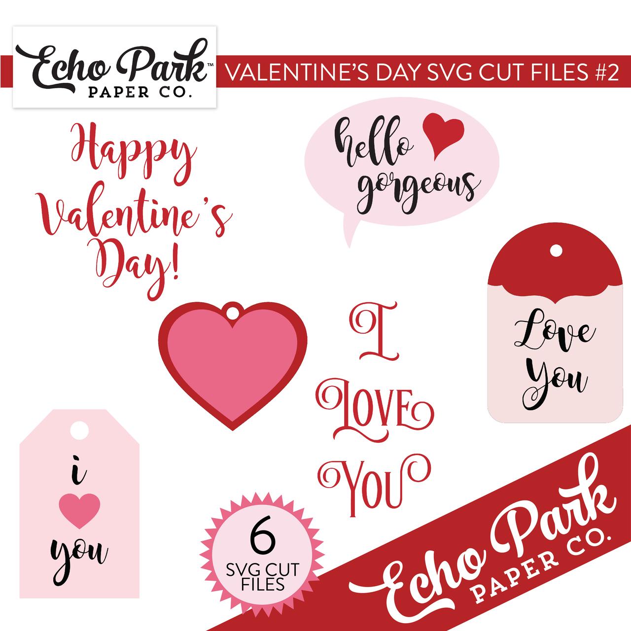 Valentines SVG Cut Files #2