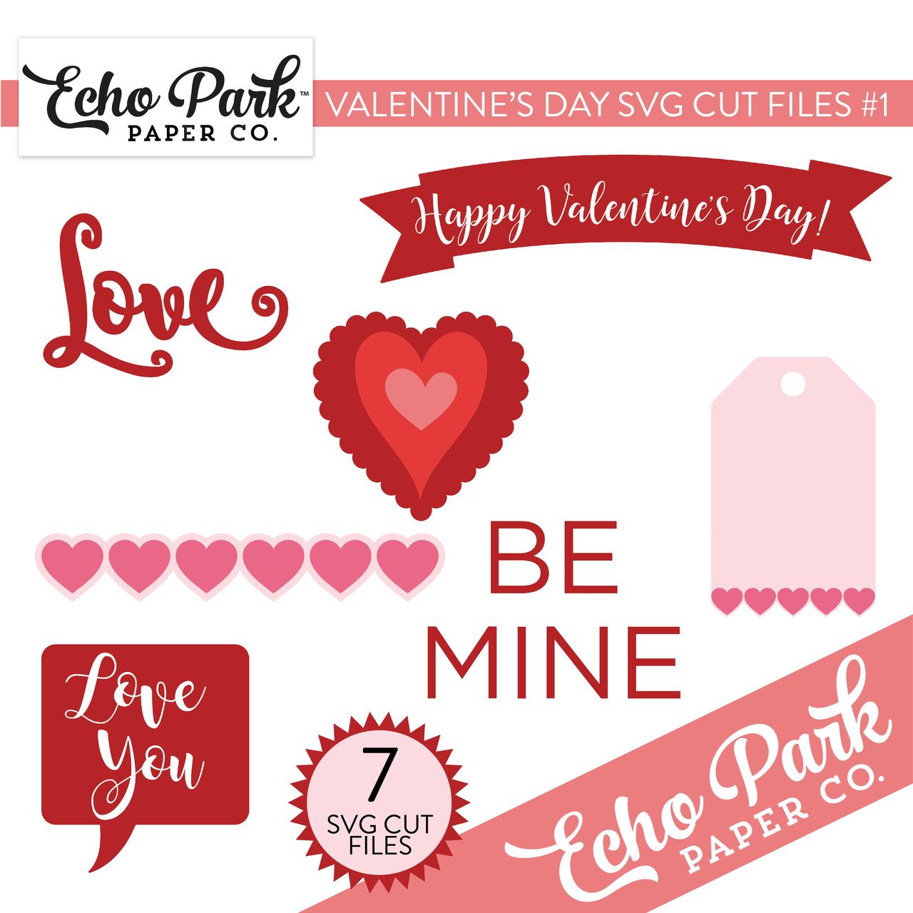 Valentines SVG Cut Files #1