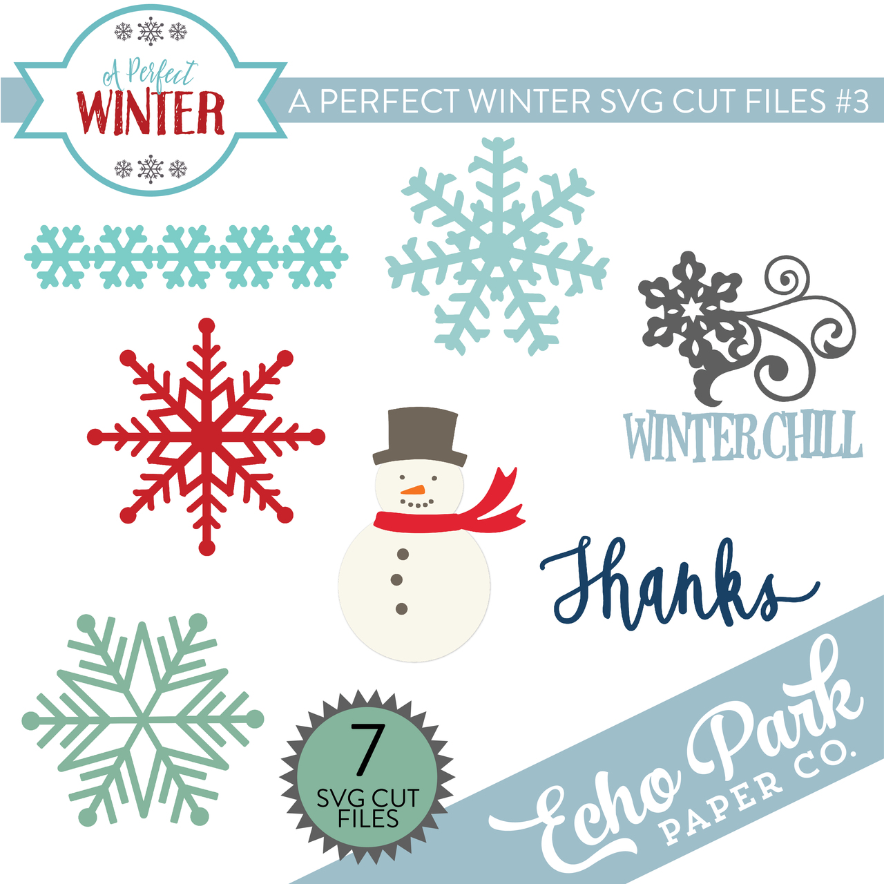 A Perfect Winter SVG Cut Files #3