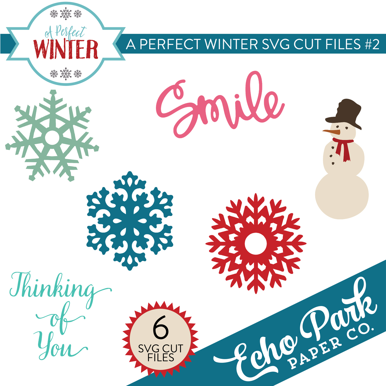 A Perfect Winter SVG Cut Files #2