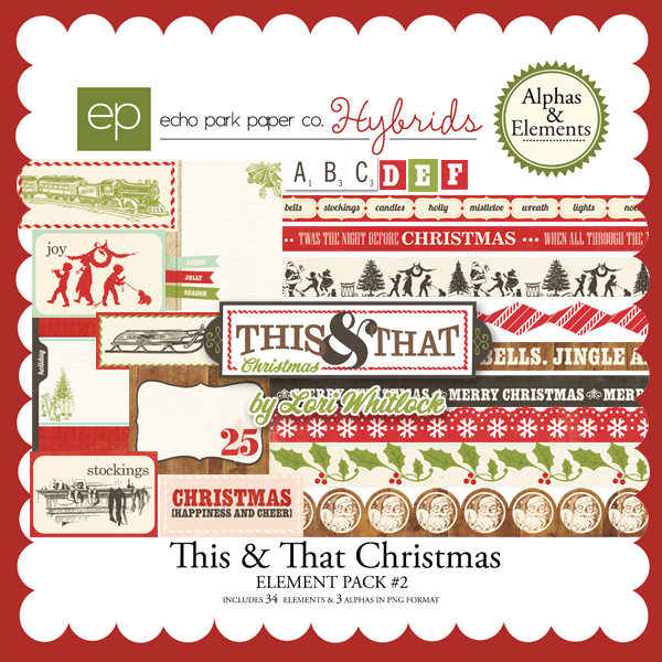 This & That Christmas Element Pack #2