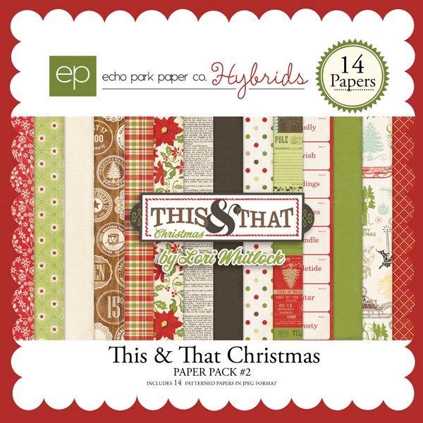 This & That Christmas Paper Pack #2