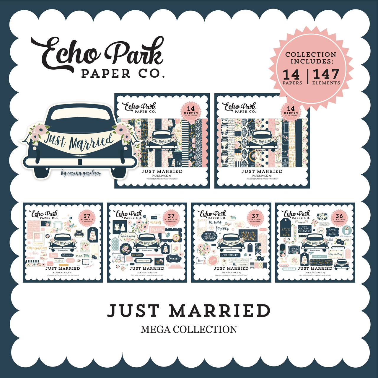 Just Married Mega Collection