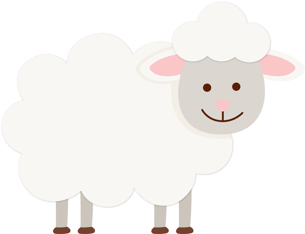 Sheep SVG Cut File