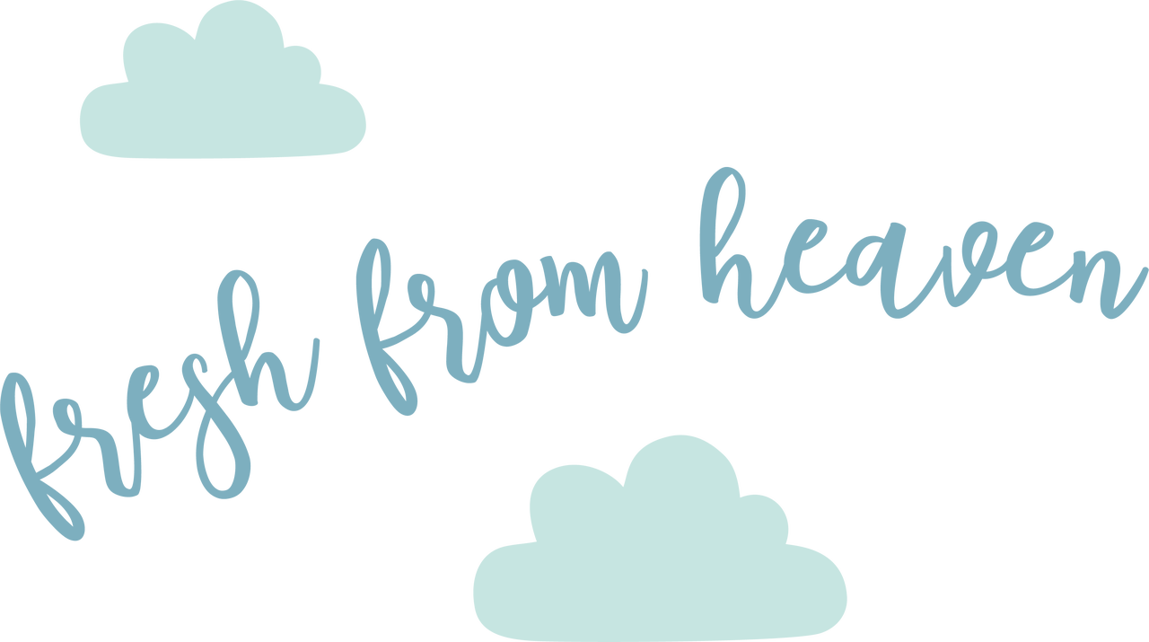 Fresh From Heaven SVG Cut File