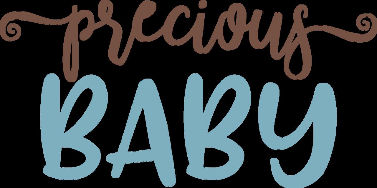 Precious Baby SVG Cut File