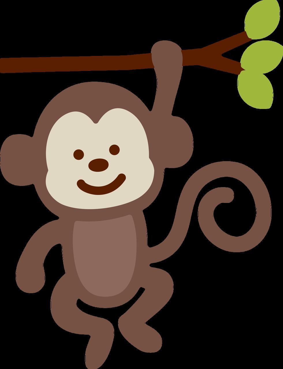 Monkey SVG Cut File