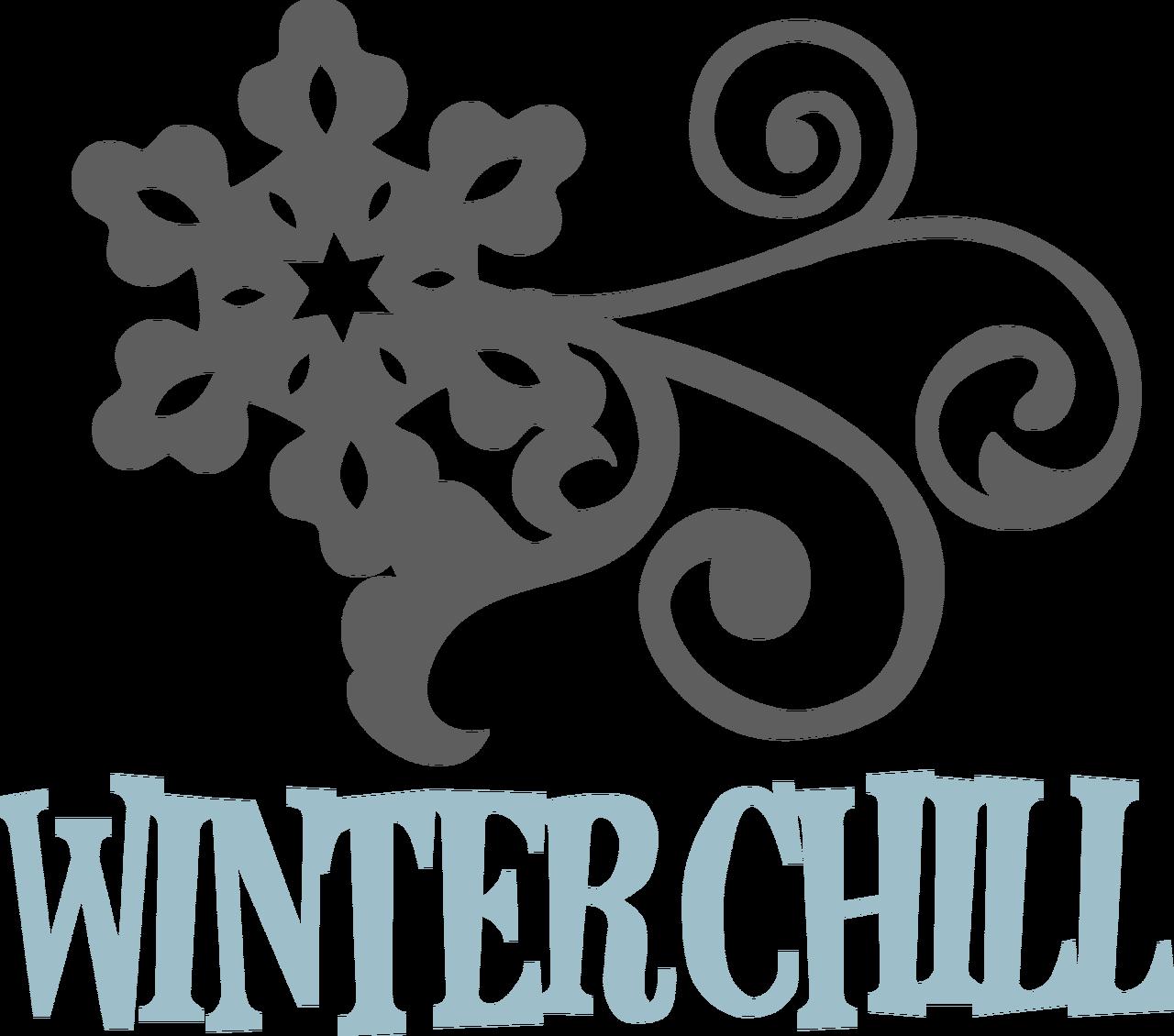 Winter Chill SVG Cut File