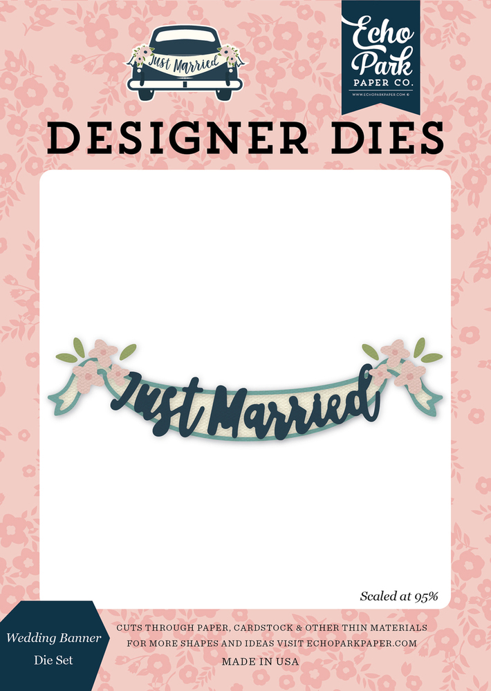 Wedding Banner Die Set