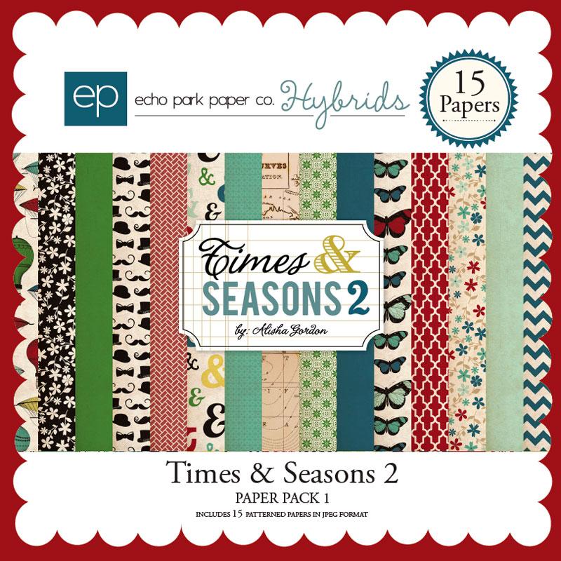 Times & Seasons 2 Paper Pack 1