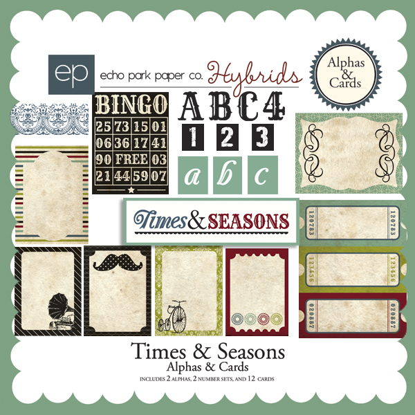 Times & Seasons Alphas & Cards