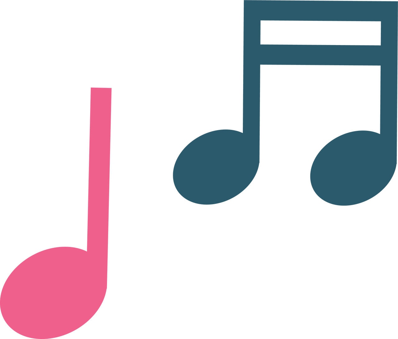 Musical Notes SVG Cut File