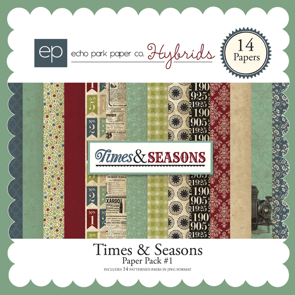 Times & Seasons Paper Pack #1