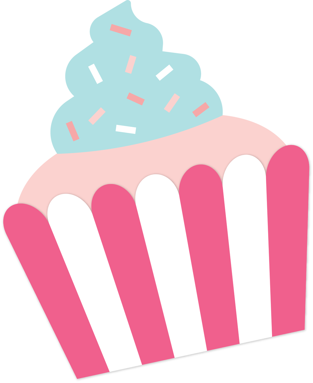 Cupcake #3 SVG Cut File