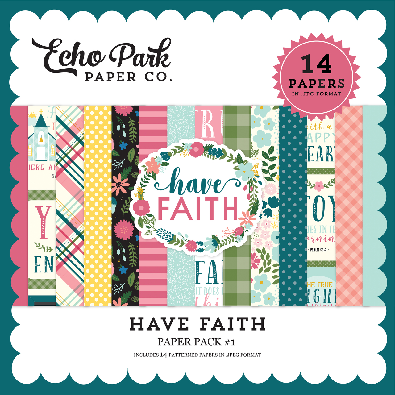 Have Faith Paper Pack #1